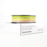 Rainbow Color Mixed color PLA fillaments Multiple Color 1.75mm