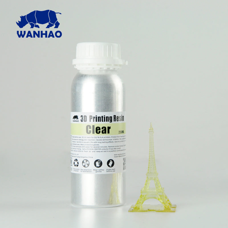 Wanhao Water Washable 3D Printing Resin 250ml – WANHAO