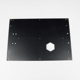 D6 HBP back plate, Z axis securing plate