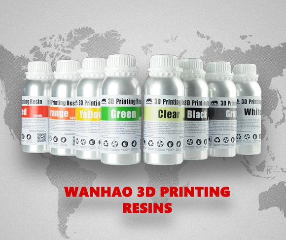 Wanhao Water Washable 3D Printing Resin 250ml