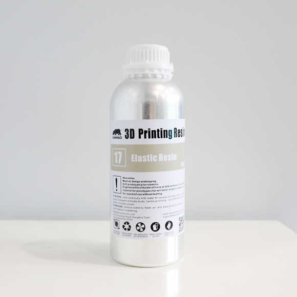 3D Printing Resin High Tenacity Resin, Gray Color, 250ml/500ml/1000ml/bottle