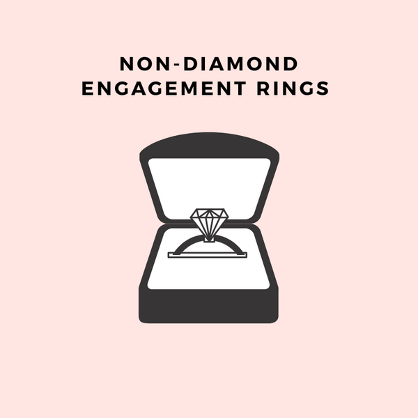 Non - Diamond Engagement Rings