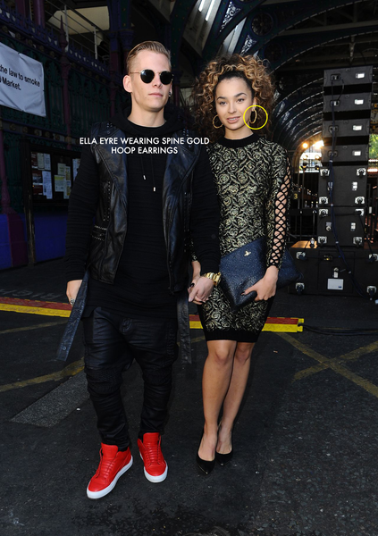 ELLA EYRE WEARS BESTSELLING HOOP EARRINGS