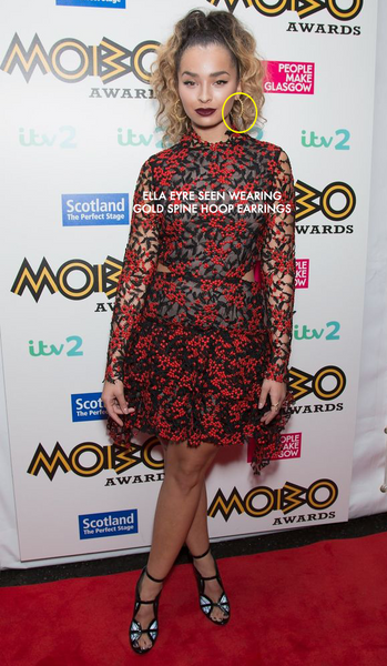 ELLA EYRE WEARS LENIQUE LOUIS TO MOBO AWARDS