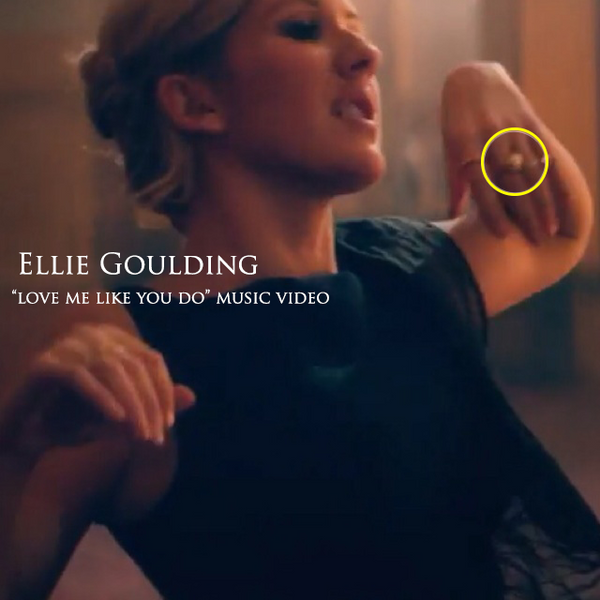 Ellie Goulding wears Lenique Louis Jewellery in Music Video 'Love Me Like You Do'