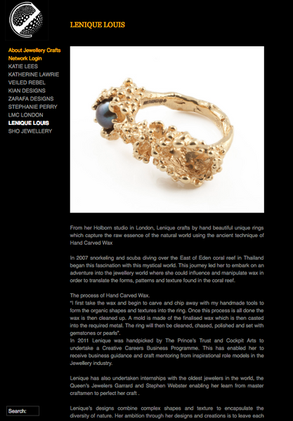 Jewellery Crafts interviews Lenique Louis