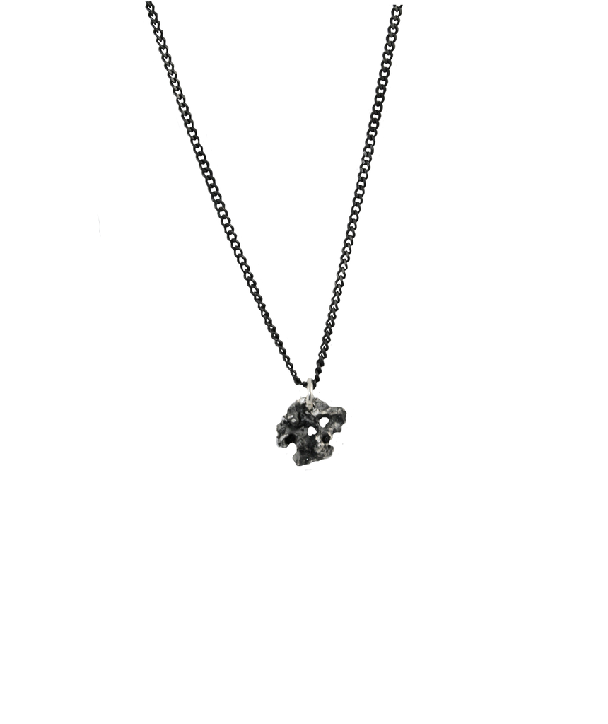 BLACK REEF Pendant - Leniquelouis-jewellery-london-based-designer-handmade-in-england-uk