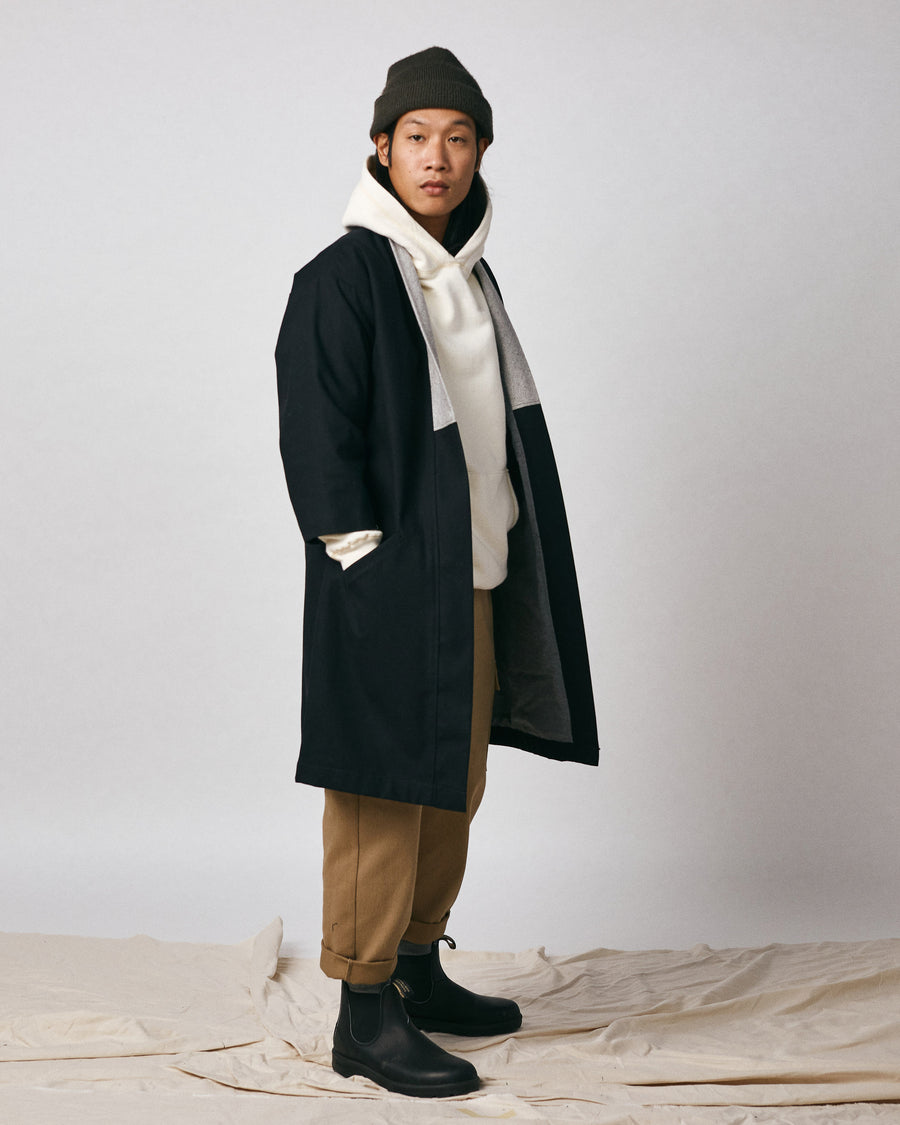 Tsushima Long Coat - Black