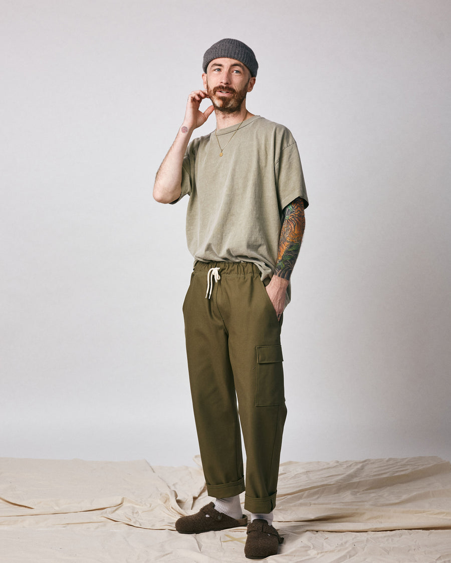 Boothe Cargo Pant - Olive