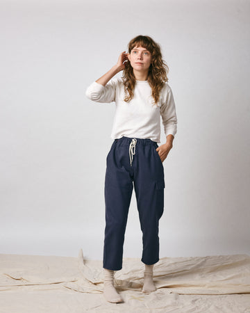 Boothe Cargo Pant - Navy