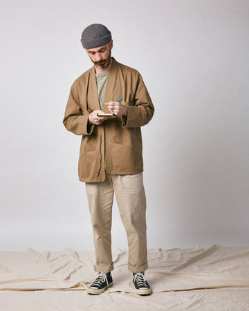 Noragi Work Coat - Earth