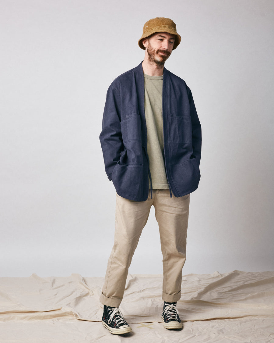 Noragi Work Coat - Navy