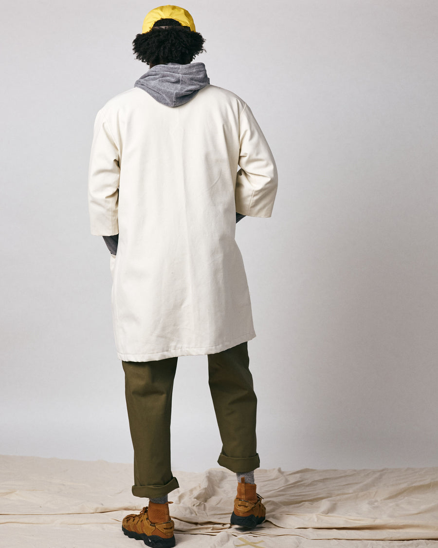 Tsushima Long Coat - Natural