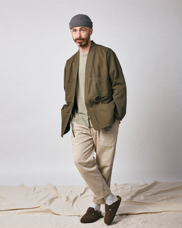 Noragi Work Coat - Olive
