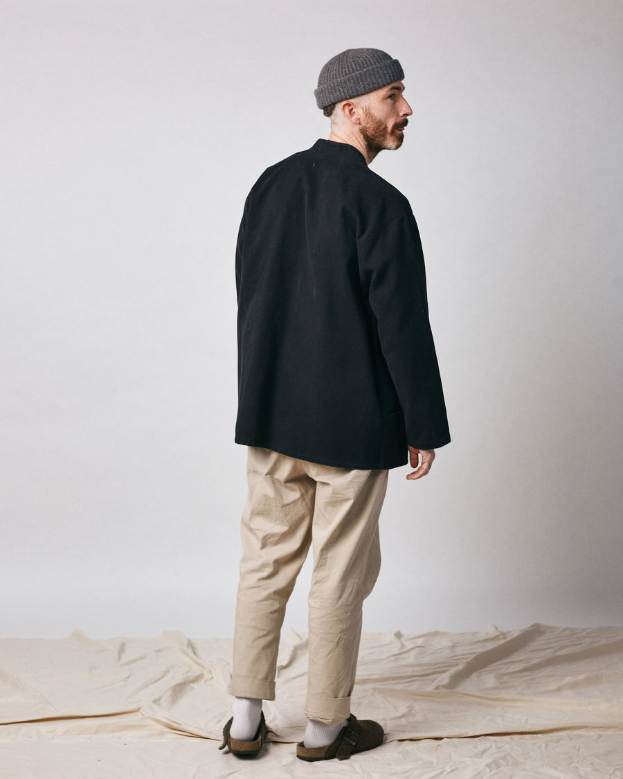 Noragi Work Coat - Black