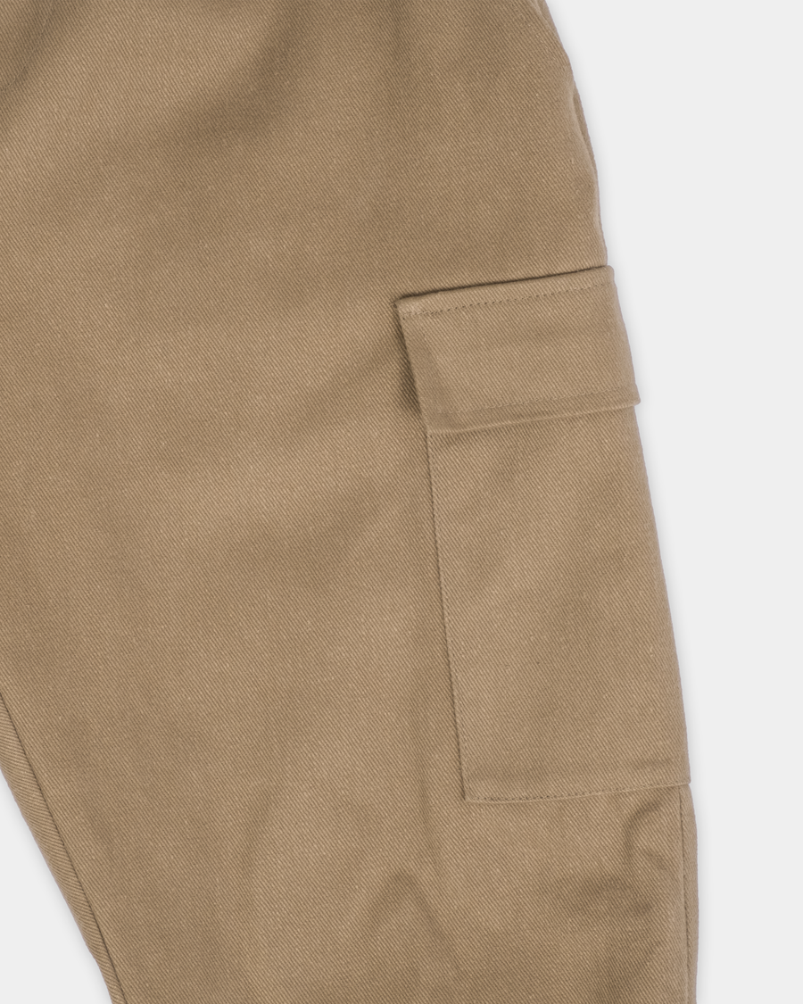 Boothe Cargo Pant - Brushed Bull Denim