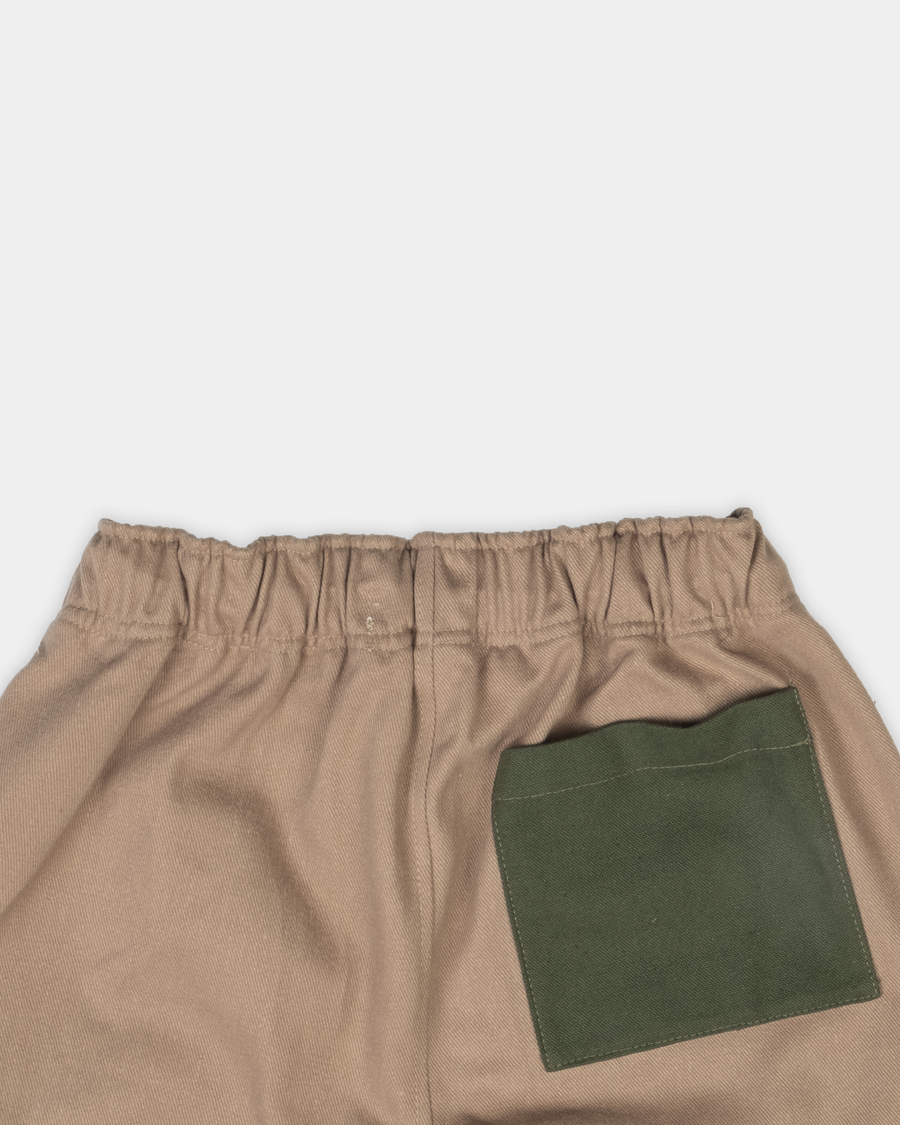 Boothe Cargo Pant - Canvas Green accent
