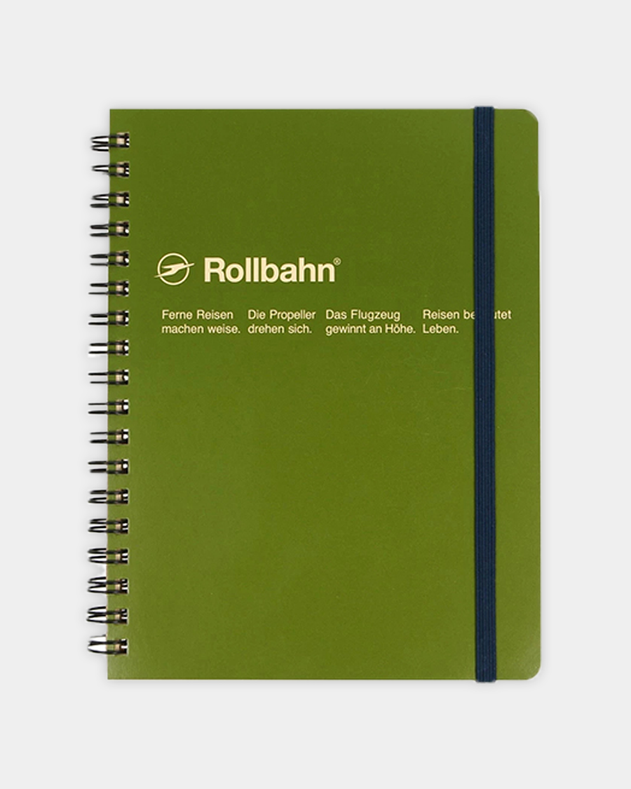 Rollbahn Notebook 5.5
