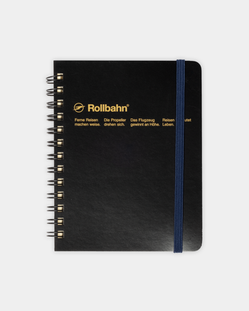 Rollbahn Spiral Notebook 4.25