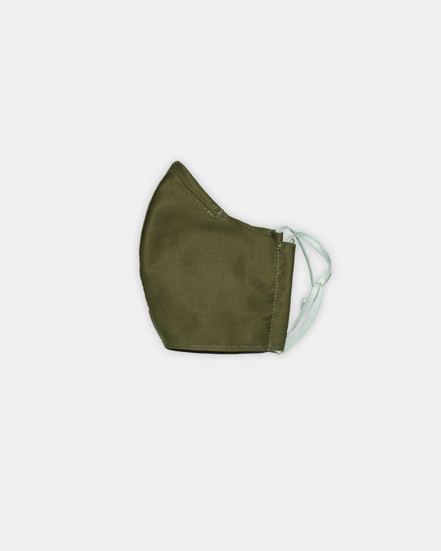 Olive green Face Mask