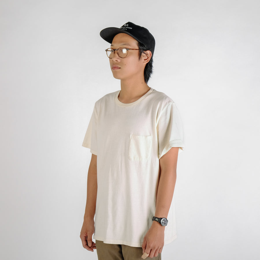 O/L Classic Knit Pocket Tee 002