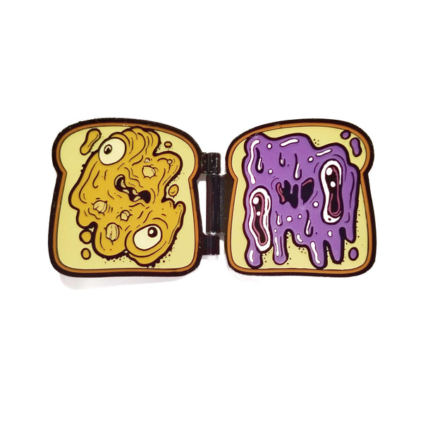 PBJ Hinged Enamel Pin