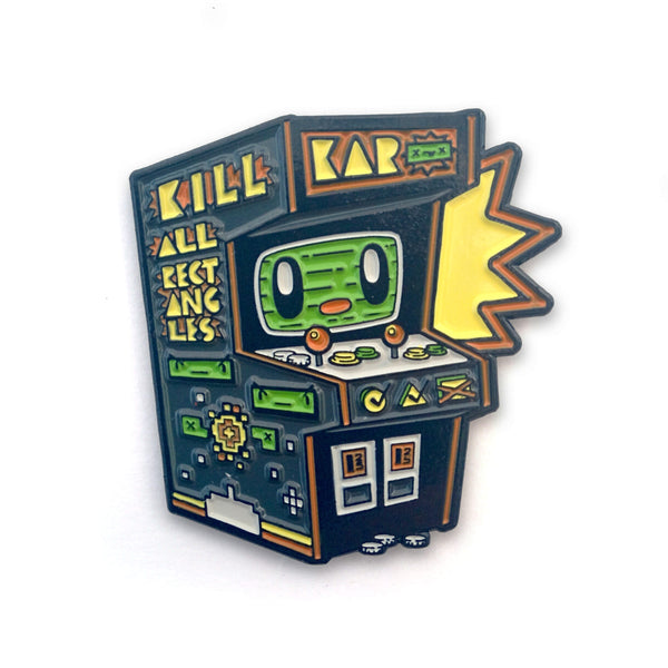 Arcade Machine Buddy Enamel Pin