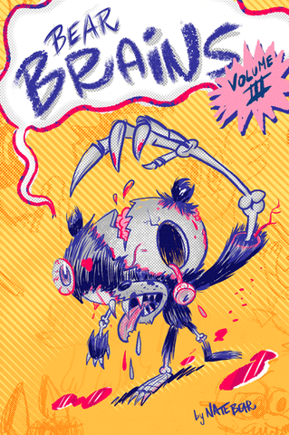 Bear Brains Volume 3 - Comic Zine