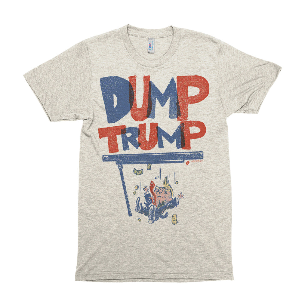 Dump Trump - Made in USA Short sleeve soft t-shirt