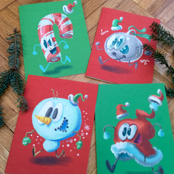 Hat-py Holiday Card Set