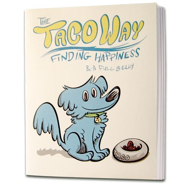 The Taco Way Mini Comic Zine