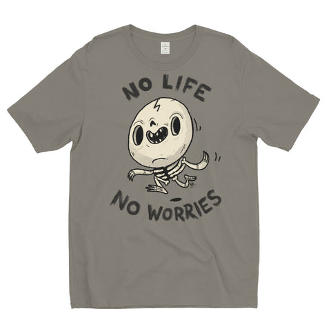 No Life, No Worries - men's t-shirt