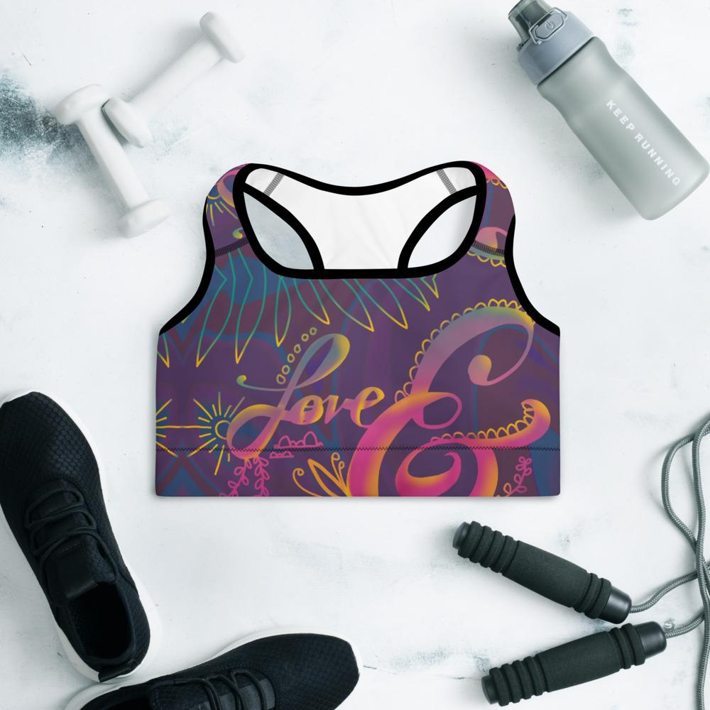 Love and Hate Sports Bra