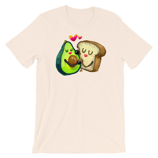 Avocado Toast Love - Short-Sleeve Unisex T-Shirt