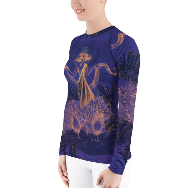 Tropical Tarot, Women's Rash Guard