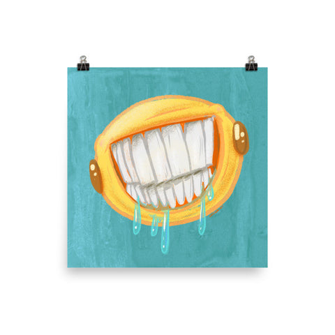Am I Smiling Enough For You? - Emoji Poster