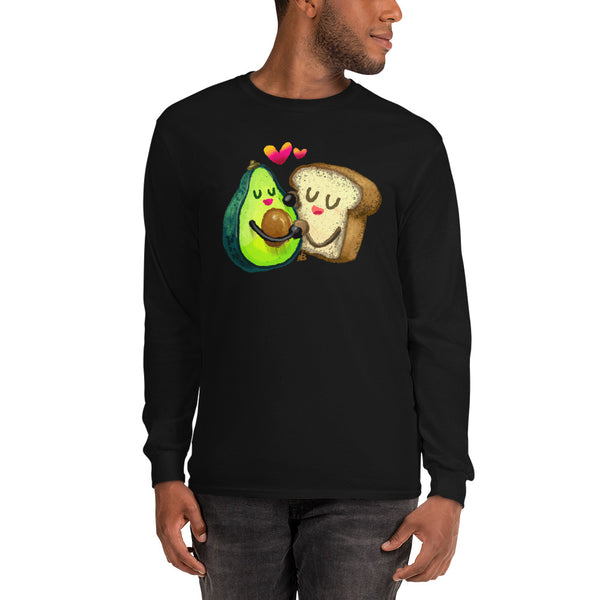 Avocado Toast - Men's Long Sleeve Shirt