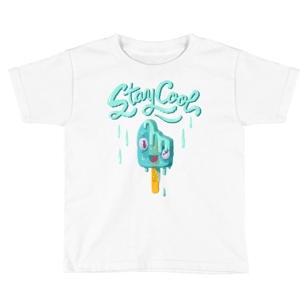 """Stay Cool"" Melty Popsicle — Kids/Toddler T-Shirt"