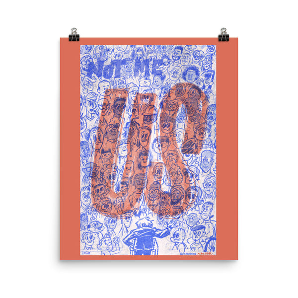 Not Me Us - Poster