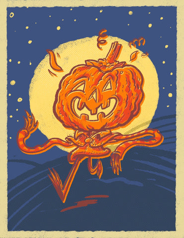 Pumpkin King - Art Print