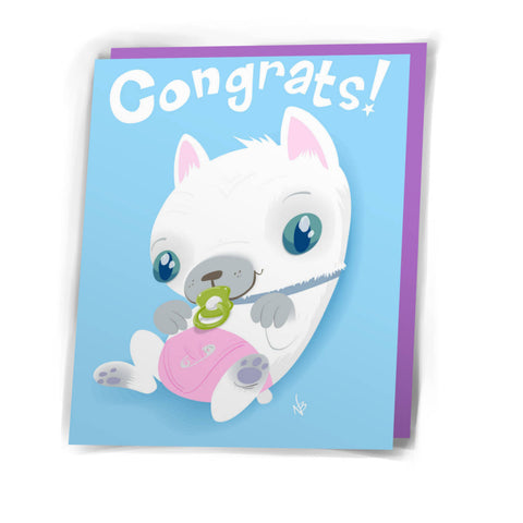 Card: Congrats Puppy