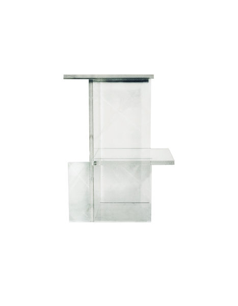 EL-FR SPECIES Perspex Side/Bedside Table Layered
