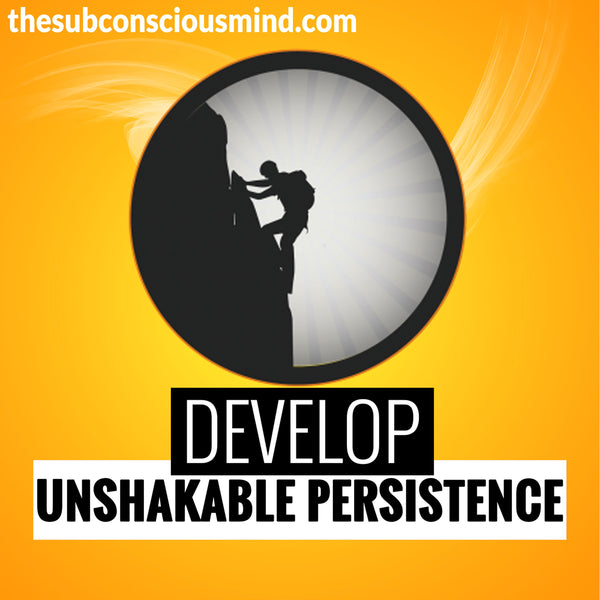 Develop Unshakable Persistence