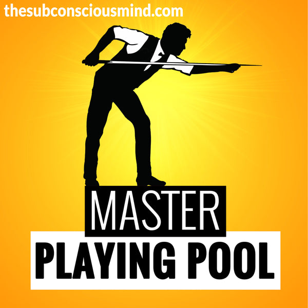 Master Playing Pool