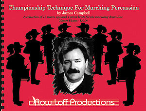 Championship Technique for Marching Percussion - CTMP Master Edition