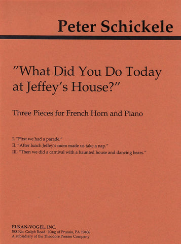 What Did You Do Today At Jeffey's House? | Imagine This Music
