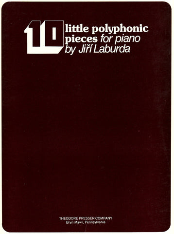 10 Little Polyphonic Pieces for Piano