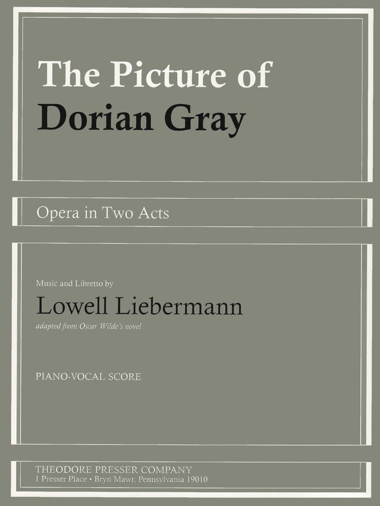 The Picture Of Dorian Gray | Imagine This Music
