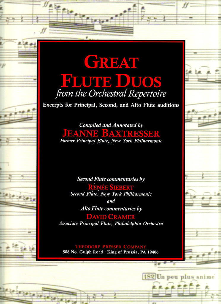 Great Flute Duos From The Orchestral Repertoire | Imagine This Music