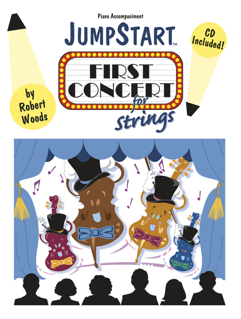JumpStart First Concert for Strings - Piano Accomp
